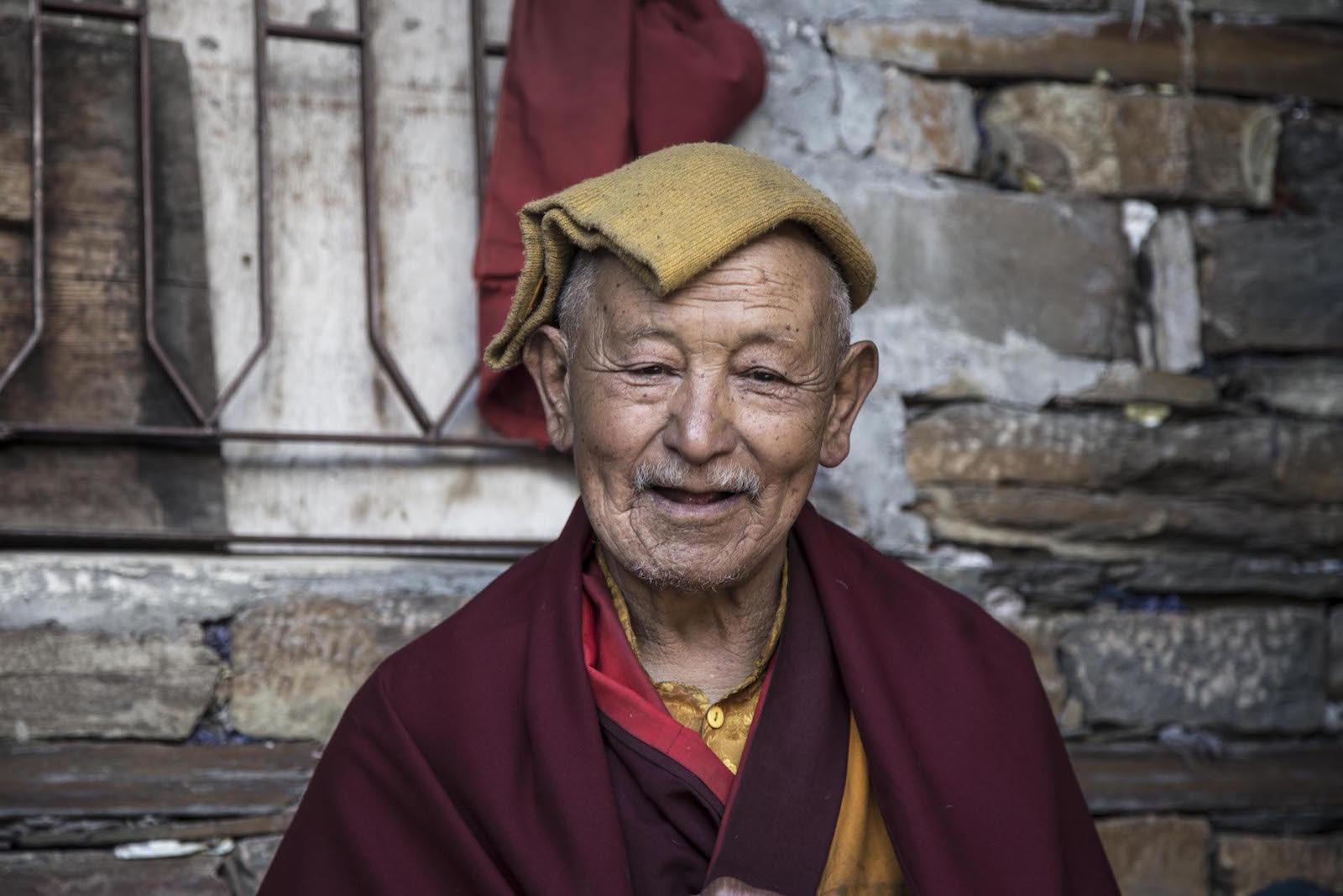 tirage photo eveil chez les tsumbas du nepal