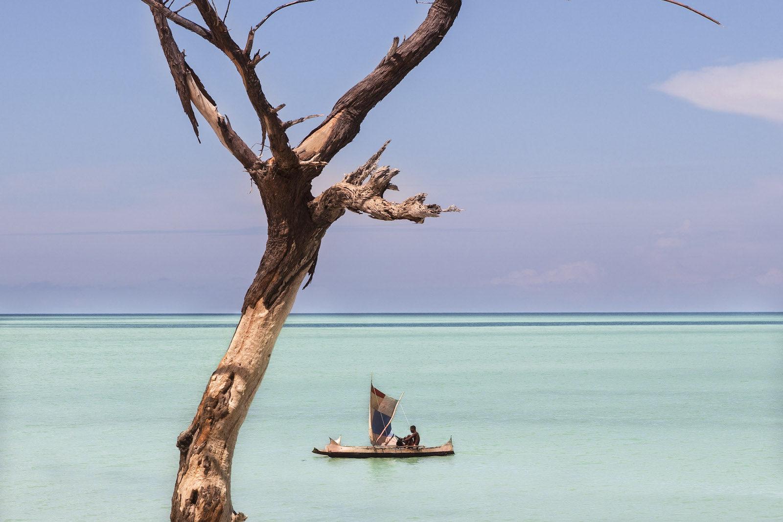 tirage photo nomade des mers chez les vezos de madagascar
