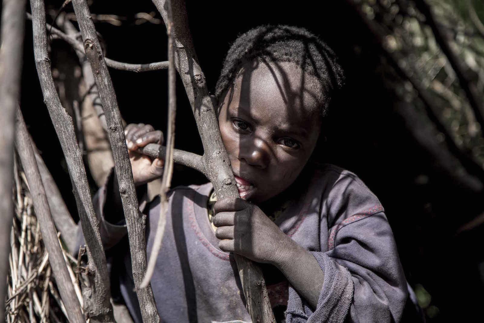 tirage photo ame sauvage chez les hadzabe de tanzanie