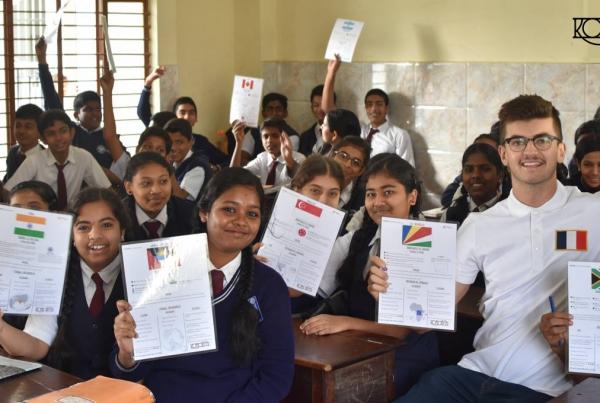 komorebi oeuvre pour education enfants inde